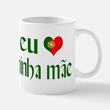 I love my Mom (Portuguese) Mug