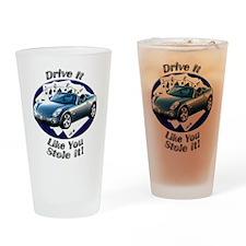 Pontiac Solstice Drinking Glass