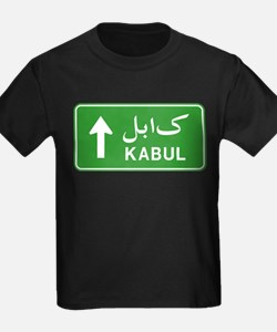 Kabul Highway Sign T