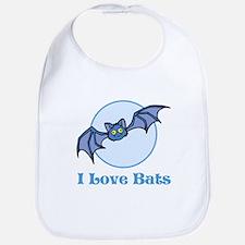 I Love Bats, Cartoon Bib