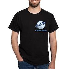 I Love Bats, Cartoon T-Shirt