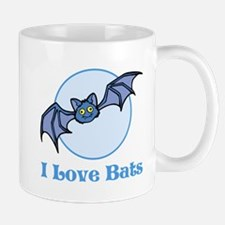 I Love Bats, Cartoon Mug