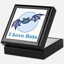 I Love Bats, Cartoon Keepsake Box