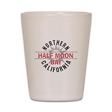 Half Moon Bay California Shot Glass