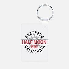 Half Moon Bay California Keychains