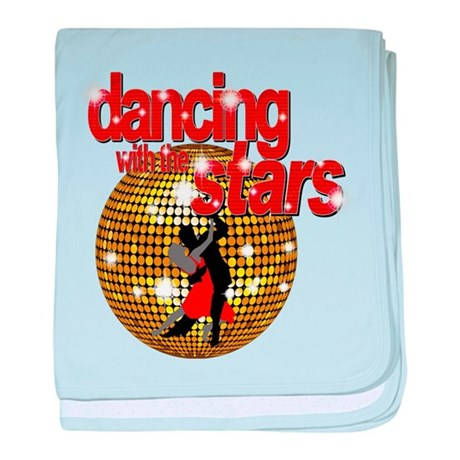 Dancing with the Stars Disco baby blanket