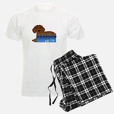 Dachshund Brother Pajamas