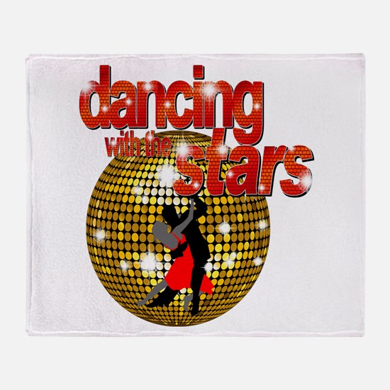 Dancing with the Stars Disco Throw Blanket