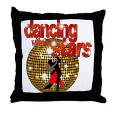 Dancing with the Stars Disco Throw Pillow