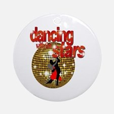 Dancing with the Stars Disco Ornament (Round)