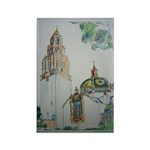 California Tower by Riccoboni Rectangle Magnet (10