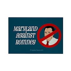 Maryland Against Mitt Romney Magnet