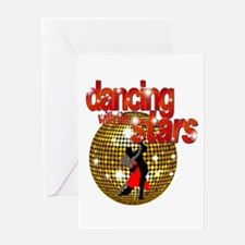Dancing with the Stars Disco Greeting Card