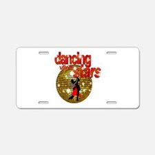 Dancing with the Stars Disco Aluminum License Plat