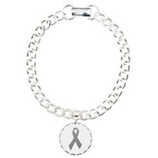 Gray Ribbon Bracelet