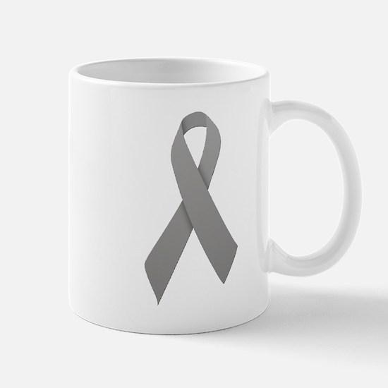 Gray Ribbon Mug
