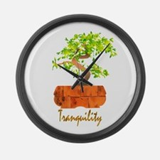 Tranquility Large Wall Clock