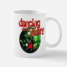 Dancing with the Stars Green Mug