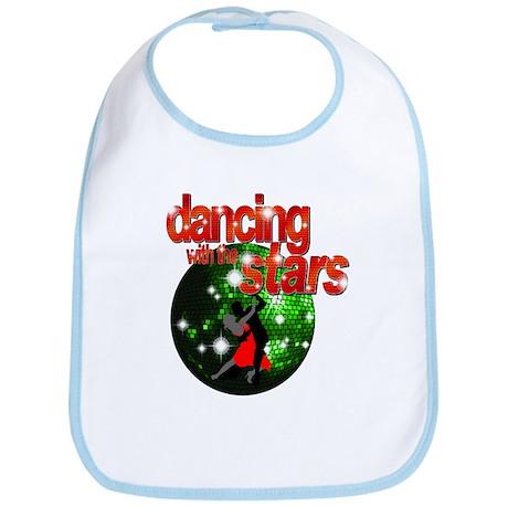 Dancing with the Stars Green Bib