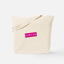 Karina Punchtape Tote Bag