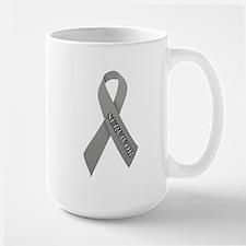 Gray Ribbon 'Survivor' Mug