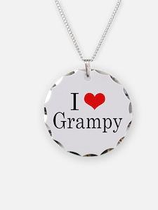 I Love Grampy Necklace