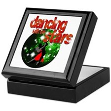 Dancing with the Stars Green Keepsake Box