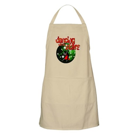 Dancing with the Stars Green Apron