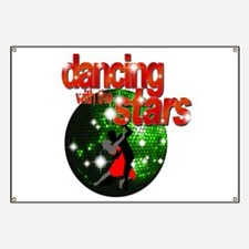 Dancing with the Stars Green Banner