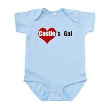 Castle's Gal Infant Bodysuit