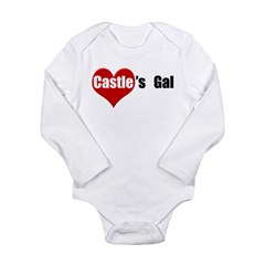 Castle's Gal Long Sleeve Infant Bodysuit
