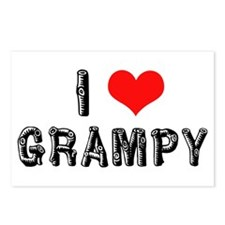 I Love Grampy -2- Postcards (Package of 8)