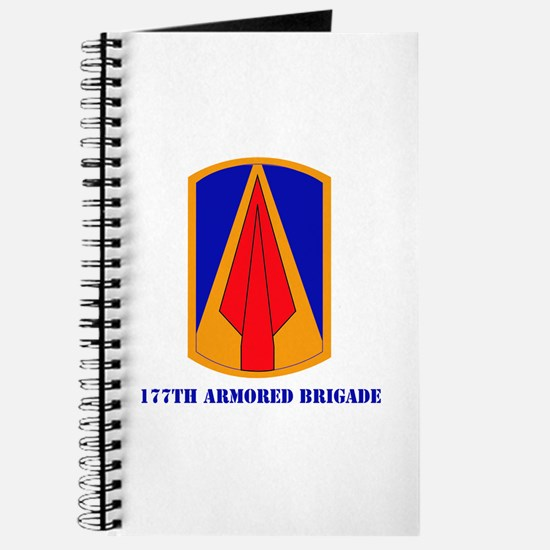 SSI - 177th Armored Brigade with text Journal
