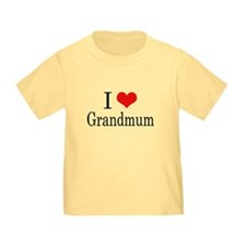 I Love Grandmum T