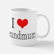 I Love Grandmum Mug