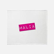 Malia Punchtape Throw Blanket