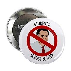 Students Against Mitt Romney button