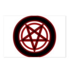 illuminate Pentagram Postcards (Package of 8)