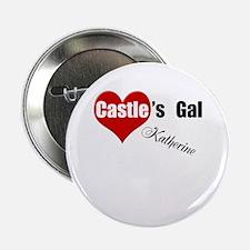 "Personalizable Castle's Gal 2.25"" Button"