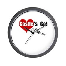 Personalizable Castle's Gal Wall Clock