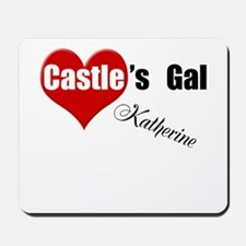 Personalizable Castle's Gal Mousepad