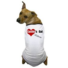 Personalizable Castle's Gal Dog T-Shirt