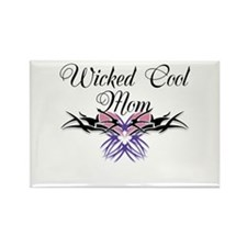 Wicked Cool Mom Rectangle Magnet
