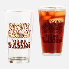 Bacon's Rebellion Drinking Glass