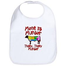 Meat is Murder. Tasty, Tasty Murder. Bib