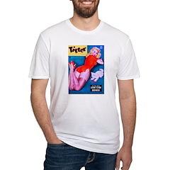 Titter Pin Up Girl in Red & Kitten Shirt