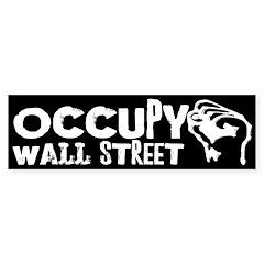 Occupy Wall Street bumper sticker
