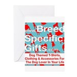 Breed Specific Gifts T-Shirt Greeting Cards (Pk of