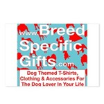 Breed Specific Gifts T-Shirt Postcards (Package of