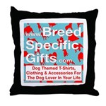 Breed Specific Gifts T-Shirt Throw Pillow